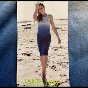 Earth Yoga Organic Cotton Ombré Dress